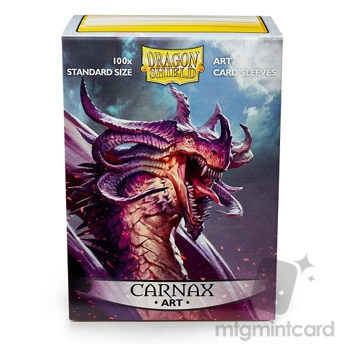 Dragon Shield 100 - Standard Deck Protector Sleeves - Art Sleeve Carnax - AT-12011