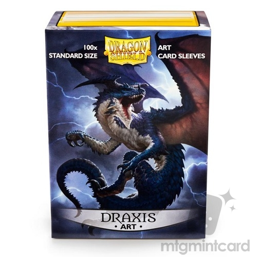 Dragon Shield 100 - Standard Deck Protector Sleeves - Art Sleeve 'Draxis' - AT-12003