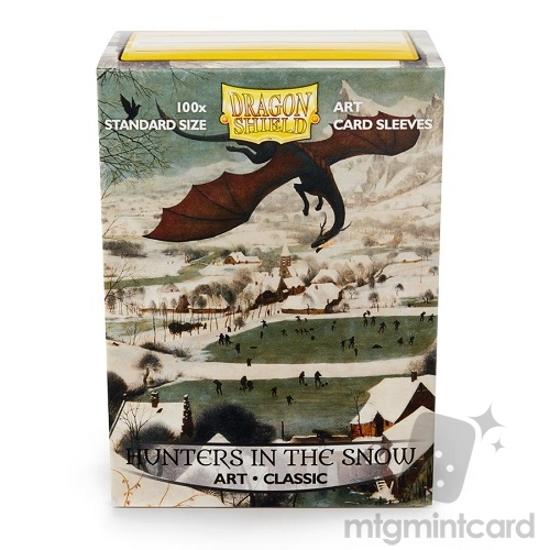 Dragon Shield 100 - Standard Deck Protector Sleeves - Art Sleeve Hunters in the Snow - AT-12015