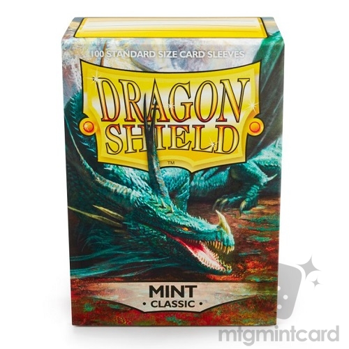 Dragon Shield 100 - Standard Deck Protector Sleeves - Mint - AT-10025