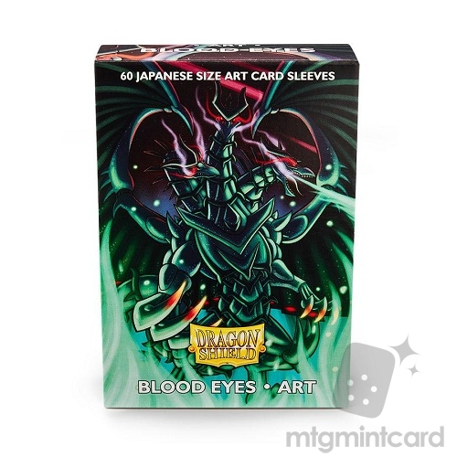 Dragon Shield 60 - Deck Protector Sleeves - Japanese Size Art Sleeve Blood Eyes - AT-12601