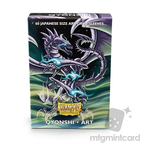 Dragon Shield 60 - Deck Protector Sleeves - Japanese Size Art Sleeve Qyonshi - AT-12602
