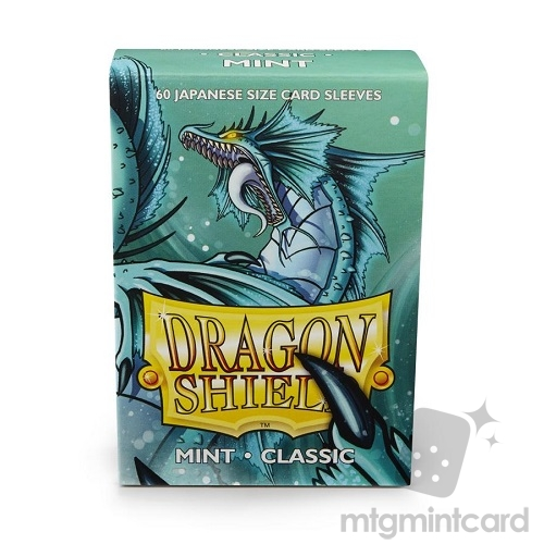 Dragon Shield 60 - Deck Protector Sleeves - Japanese size Sky Mint - AT-10625