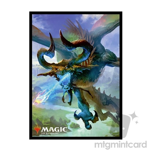 Ensky 80 - Magic MTG Players Card Sleeves - M19 - Nicol Bolas the Ravager - MTGS-040