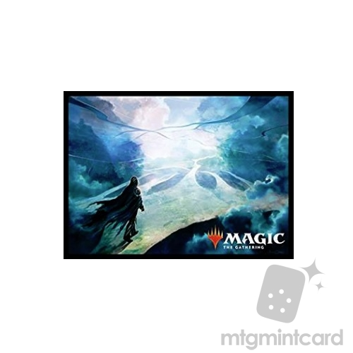 Ensky 80 - Magic MTG Players Card Sleeves - M19 - Omniscience - MTGS-046