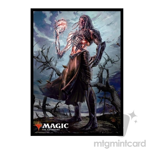 Ensky 80 - Magic MTG Players Card Sleeves - M19 - Tezzeret Artifice Master - MTGS-041