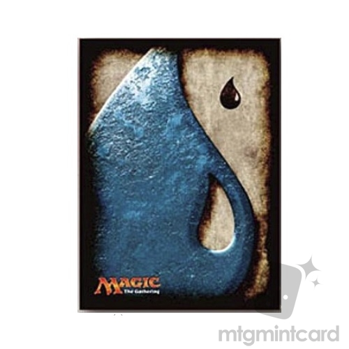 Ensky 80 - Magic MTG Players Card Sleeves - Mana Symbol - Island - MTGS-018