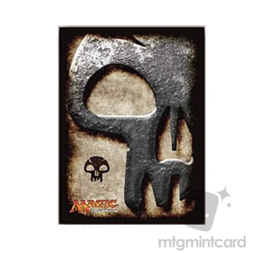 Ensky 80 - Magic MTG Players Card Sleeves - Mana Symbol - Swamp - MTGS-019