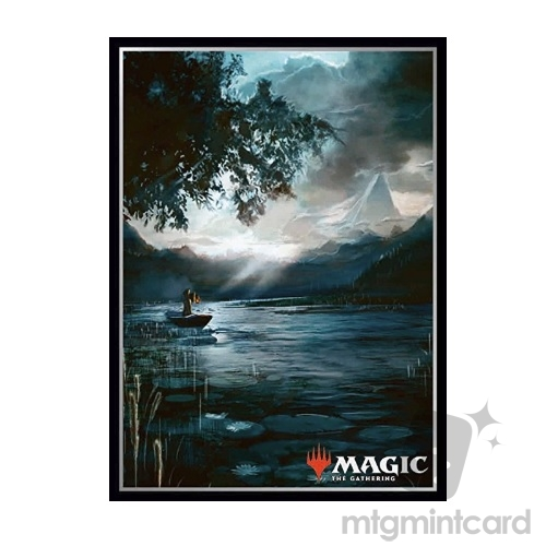 Ensky 80 - Magic MTG Players Card Sleeves - River of Tears - MTGS-039