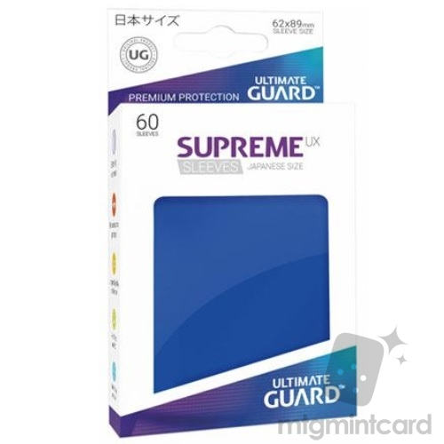 Ultimate Guard 60 - Supreme UX Sleeves Japanese Size - Blue - UGD010579