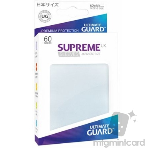 Ultimate Guard 60 - Supreme UX Sleeves Japanese Size - Frosted - UGD010628