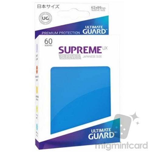 Ultimate Guard 60 - Supreme UX Sleeves Japanese Size - Royal Blue - UGD010578