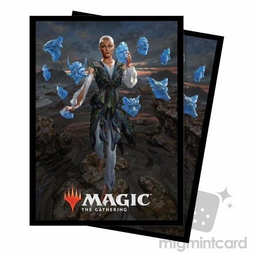 Ultra PRO 100 Magic Deck Protector Sleeves - Commander 2018 - v2 Estrid, the Masked - 86872