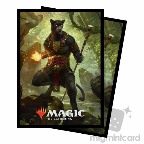 Ultra PRO 100 Magic Deck Protector Sleeves - Commander 2018 - v3 Lord Windgrace - 86873