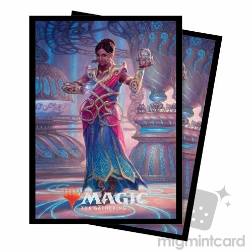 Ultra PRO 100 Magic Deck Protector Sleeves - Commander 2018 - v4 Saheeli, the Gifted - 86874