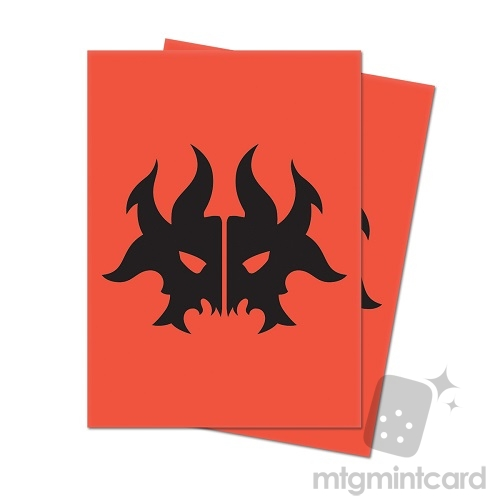 Ultra PRO 100 Magic Deck Protector Sleeves - Guilds of Ravnica - Cult of Rakdos - 86920