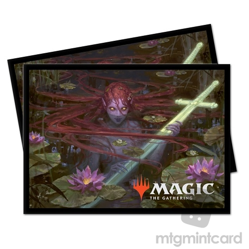 Ultra PRO 100 Magic Deck Protector Sleeves - Throne of Eldraine - Emry Lurker of the Loch - 18184