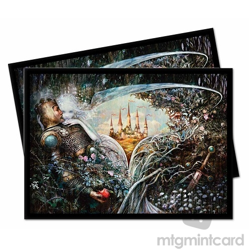 Ultra PRO 100 Magic Deck Protector Sleeves - Throne of Eldraine - Enchantment - 18185