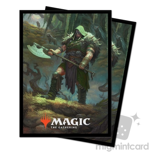 Ultra PRO 100 Magic Deck Protector Sleeves - Throne of Eldraine - Garruk Cursed Huntsman - 18183