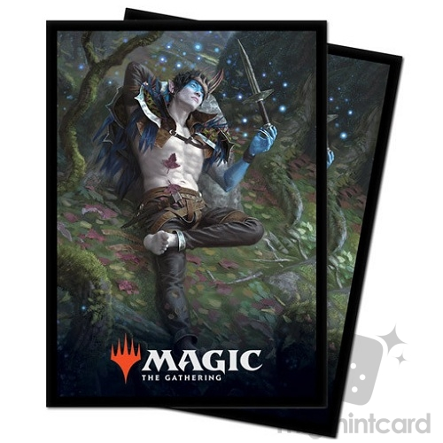 Ultra PRO 100 Magic Deck Protector Sleeves - Throne of Eldraine - Oko Thief of Crowns - 18182
