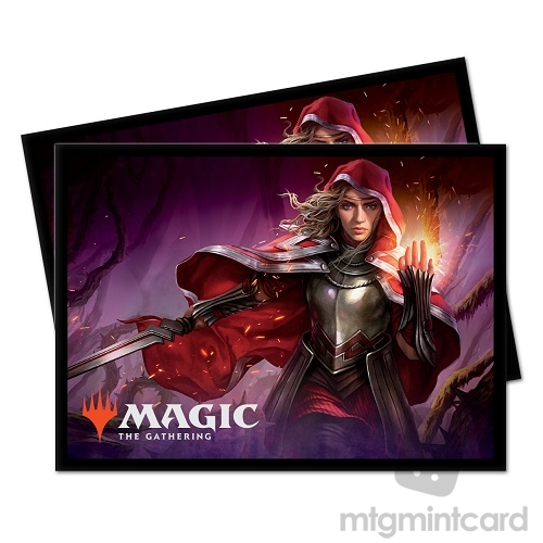 Ultra PRO 100 Magic Deck Protector Sleeves - Throne of Eldraine - Rowan - 18199