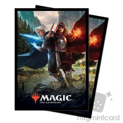 Ultra PRO 100 Magic Deck Protector Sleeves - Throne of Eldraine - Royal Scions - 18181