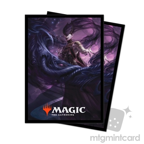 Ultra Pro 100 - Magic Standard Deck Protector - Theros Beyond Death - V1 Ashiok, Nightmare Muse - 18220