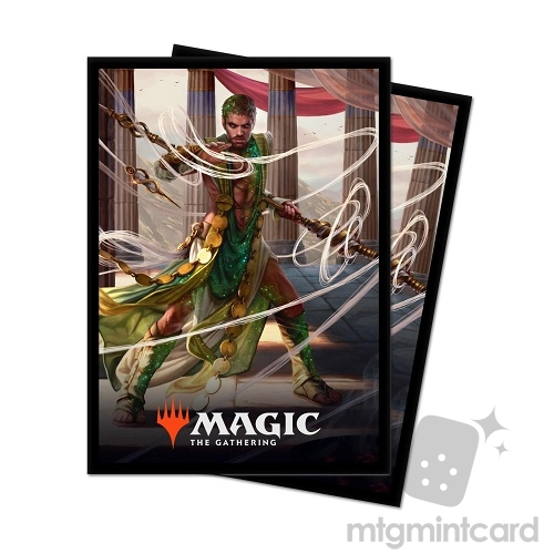 Ultra Pro 100 - Magic Standard Deck Protector - Theros Beyond Death - V2 Calix, Destiny's Hand - 18221