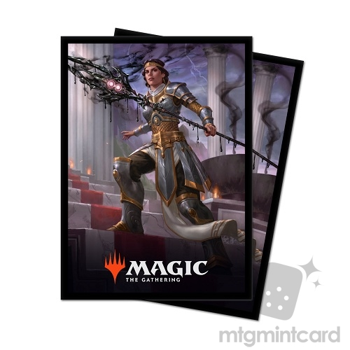 Ultra Pro 100 - Magic Standard Deck Protector - Theros Beyond Death - V3 Elspeth, Sun's Nemesis - 18222