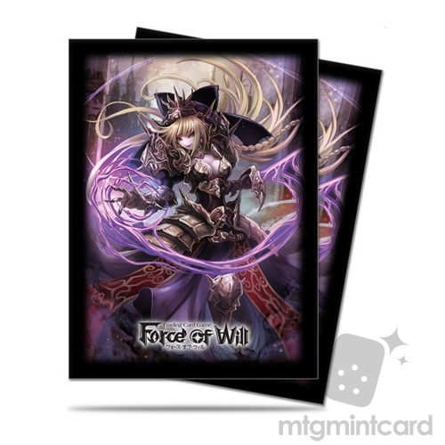Ultra PRO 65 - Standard Deck Protector Sleeves - Force of Will - A2: Dark Faria - 84788