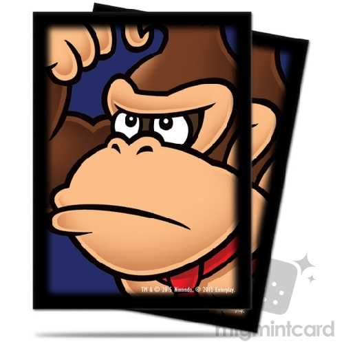 Ultra PRO 65 - Standard Deck Protector Sleeves - Super Mario: Donkey Kong - 84669