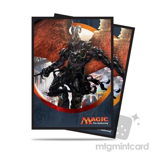 Ultra PRO 80 Magic Deck Protector Sleeves - Aether Revolt - V3 Herald of Anguish - 86488