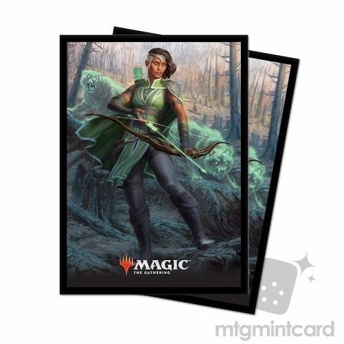 Ultra PRO 80 Magic Deck Protector Sleeves - Core Set 2019 - v5 Vivien Reid - 86787