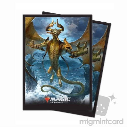 Ultra PRO 80 Magic Deck Protector Sleeves - Core Set 2019 - v6 Nicol Bolas, the Arisen - 86788