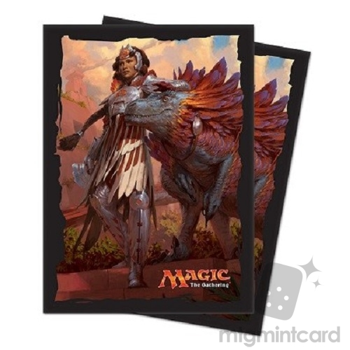 Ultra PRO 80 Magic Deck Protector Sleeves - Ixalan - v3 Huatli, Warrior Poet - 86616
