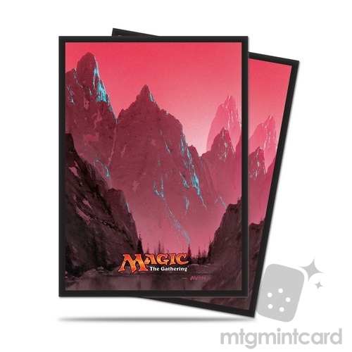 Ultra PRO 80 Magic the Gathering Deck Protector Sleeves - Mana 5 - Mountain - 86457