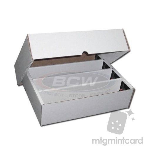 BCW - Cardboard Storage Box - 3200 Count (Full Lid)- 1-BX-3200
