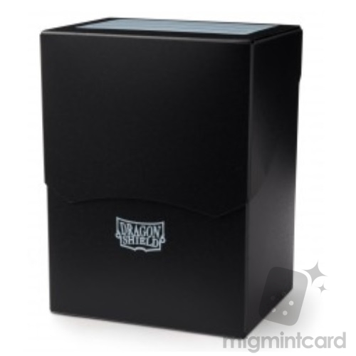 Dragon Shield Deck Shell Box - Black - AT-20402