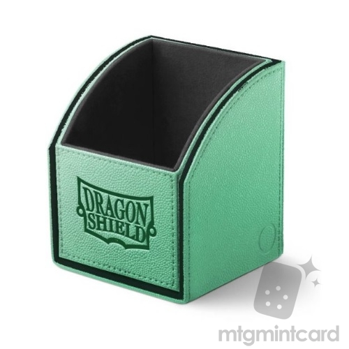 Dragon Shield Nest 100 Deck Box - Green/Black - AT-40108