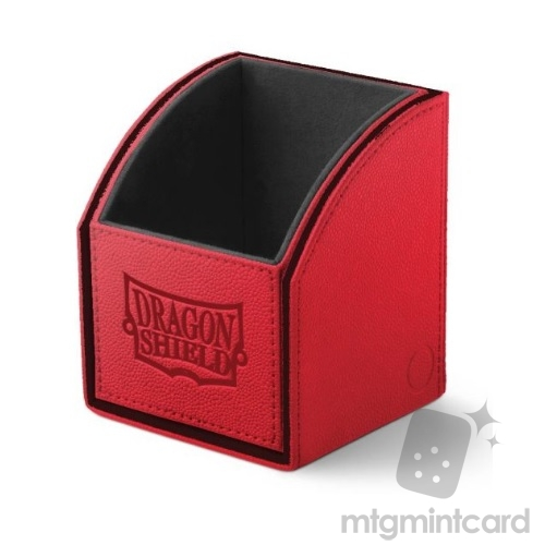 Dragon Shield Nest 100 Deck Box - Red/Black - AT-40110