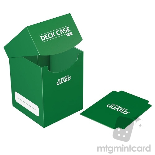 Ultimate Guard 100+ Deck Box - Green - UGD010266