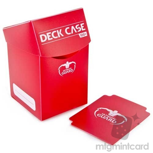Ultimate Guard 100+ Deck Box - Red - UGD010264
