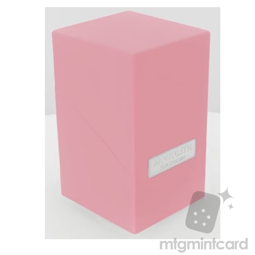 Ultimate Guard 100+ Monolith Deck Case Box - Pink - UGD010324