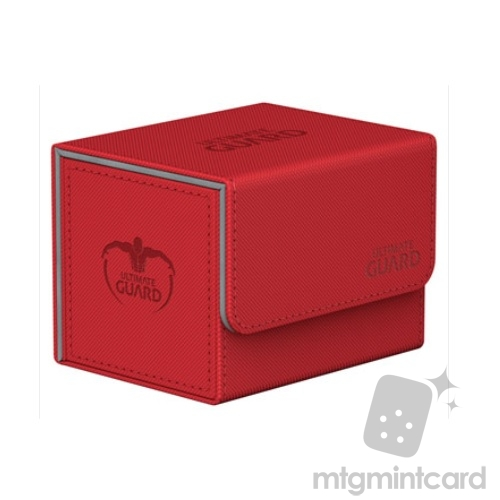 Ultimate Guard 100+ SideWinder Standard Size XenoSkin Deck Case - Red - UGD010761