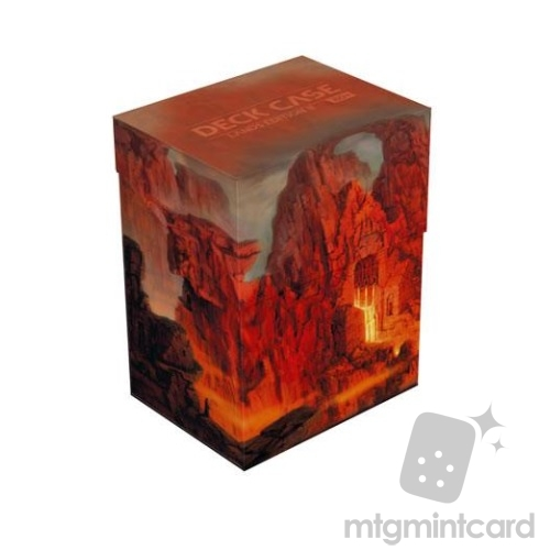 Ultimate Guard 80+ Deck Box - Lands Edition II - Mountain - UGD010911