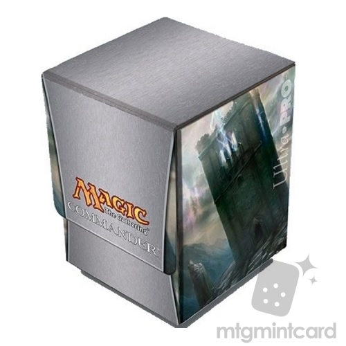 86188 MATTE FINISH ULTRA PRO MAGIC THE GATHERING DUAL FLIP BOX WHITE MANA