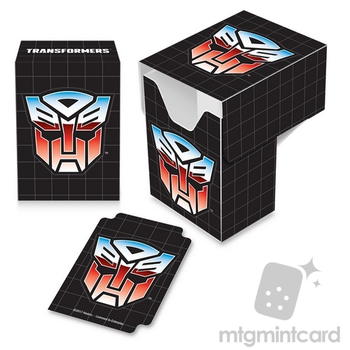 Ultra PRO Deck Box - Transformers - Autobots Full-View - 84977