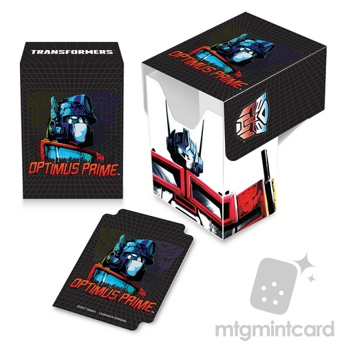 Ultra PRO Deck Box - Transformers - Optimus Full-View - 85072