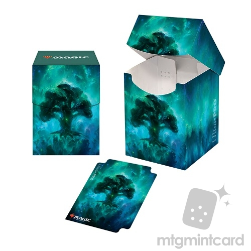 Ultra Pro Magic the Gathering 100+ Deck Box - Celestial Lands - Forest - 18293