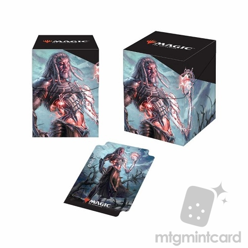 Ultra PRO Magic the Gathering 100+ Deck Box - Core Set 2019 - v2 Tezzeret, Artifice master - 86790